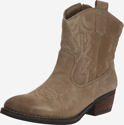 PS Poelman Cowboy boot in Cappuccino, Item view