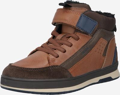GEOX Sneaker 'Astuto' in dunkelblau / braun, Produktansicht