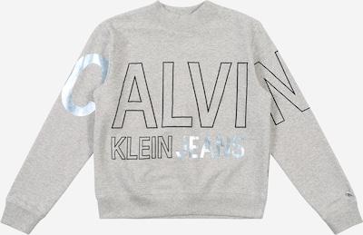 Calvin Klein Jeans Sweatshirt in hellgrau, Produktansicht