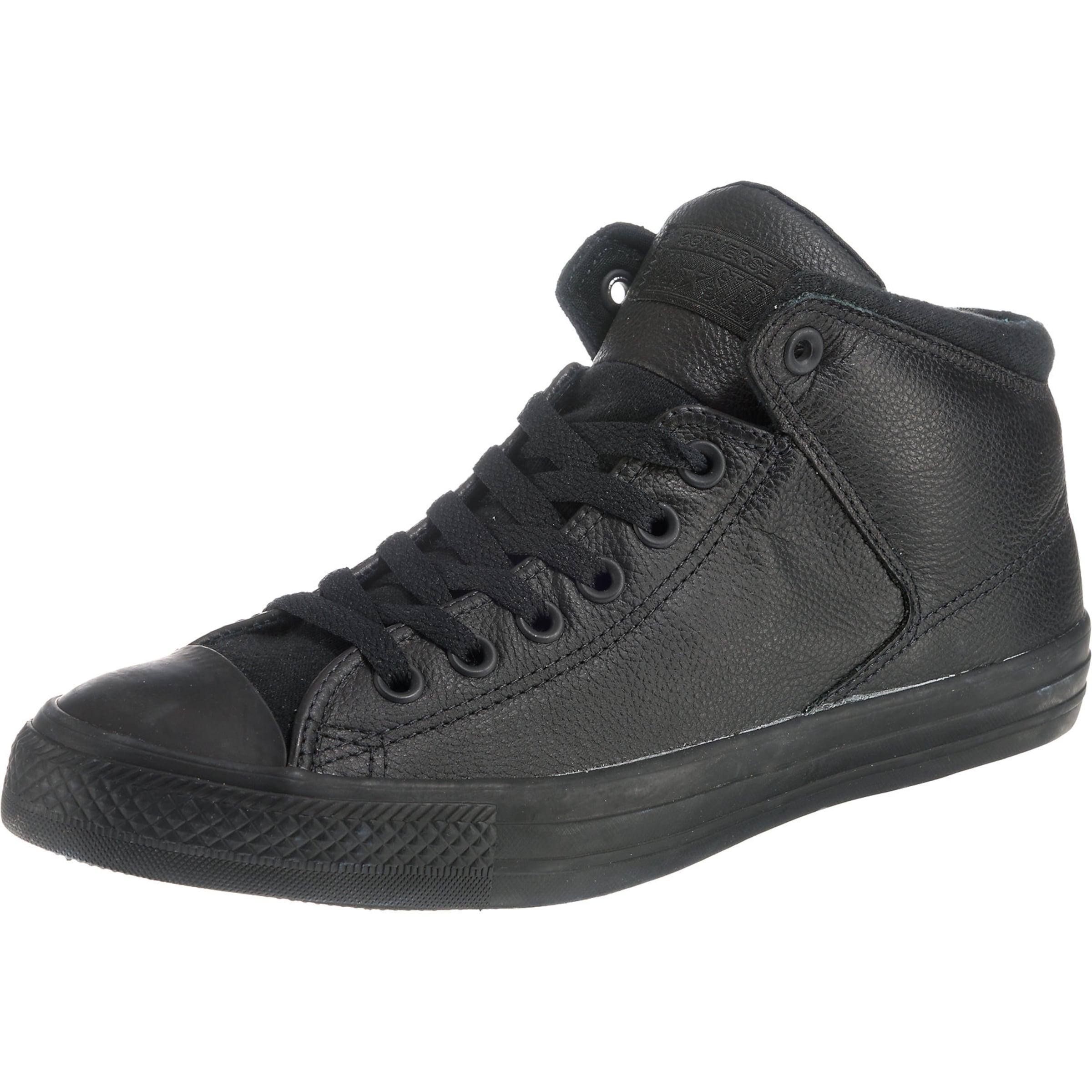 Converse Street' Star Hautes Baskets 'chuck Taylor Noir High All En wZNknP80OX