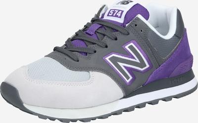 new balance Sneaker 'ML574UPB' in hellgrau / dunkelgrau / lila, Produktansicht