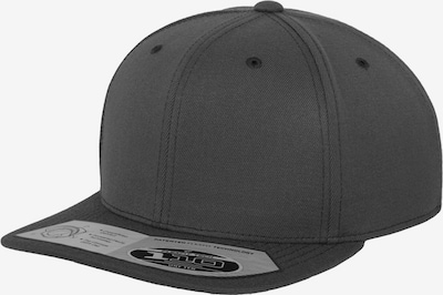 Flexfit Snapback  '110 Fitted' in dunkelgrau: Frontalansicht