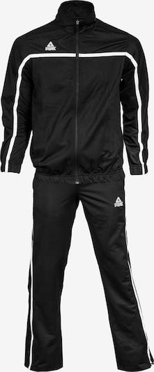 PEAK Trainingsanzug in schwarz: Frontalansicht