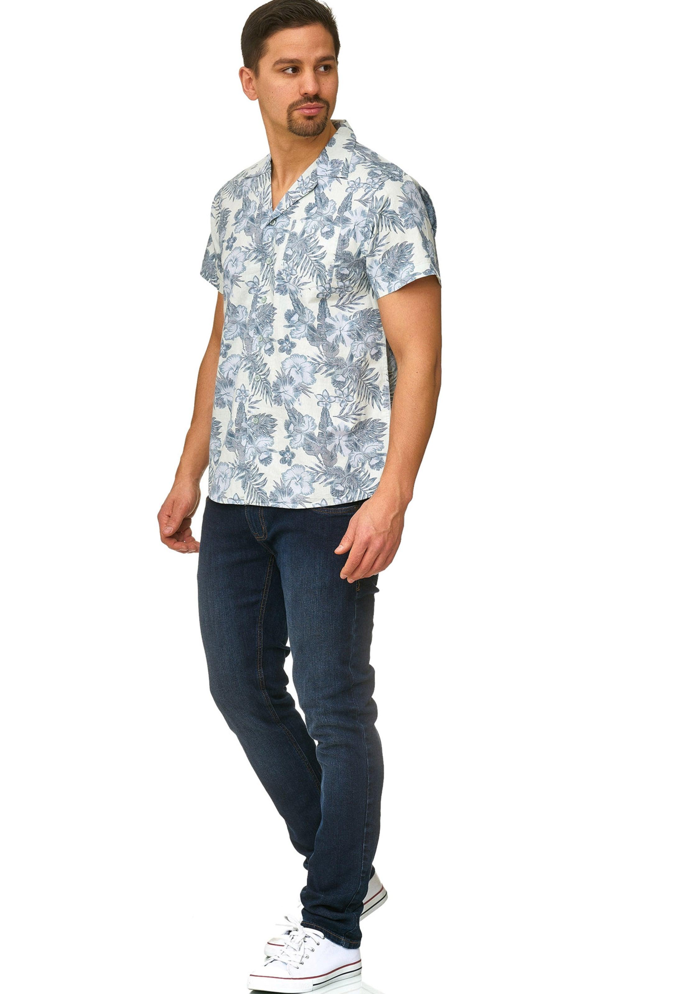 Hemd 'mcmillan' BlauPastellblau In Indicode Jeans bvy6g7IYf