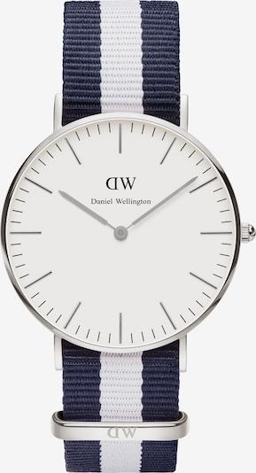 Daniel Wellington Damenuhr 'Classic Collection Glasgow' in marine / silber / weiß, Produktansicht