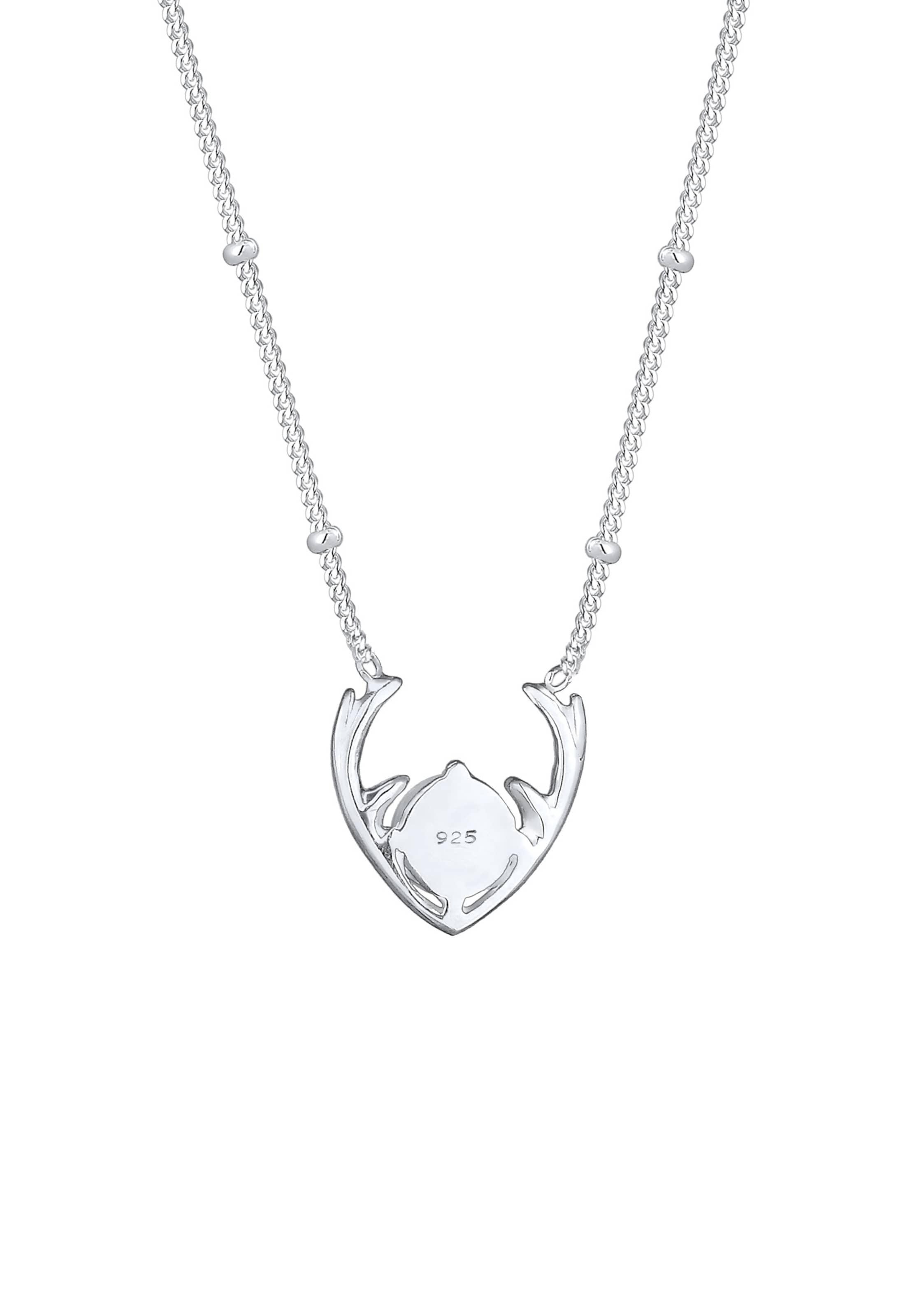 Elli In HirschWeihnachtenWiesn Elli Halskette Halskette Silber 5LAR34j