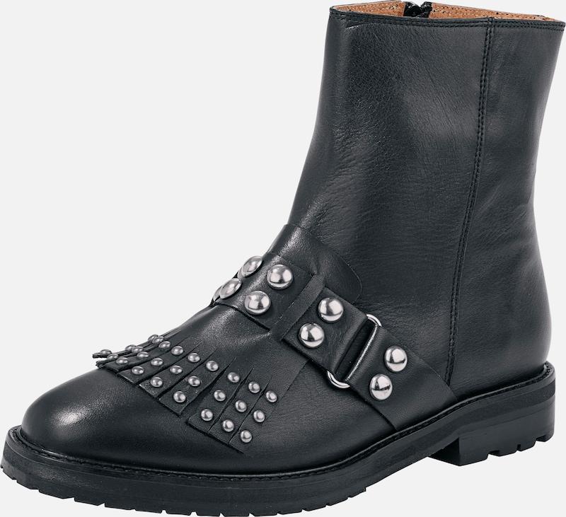 heine Stiefelette mit Verschleißfeste Nieten Verschleißfeste mit billige Schuhe bc463b