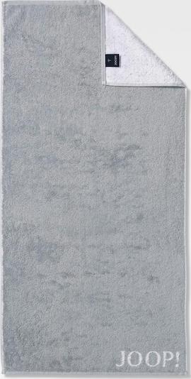 JOOP! Handtuch 'Doubleface' in silbergrau / hellgrau, Produktansicht