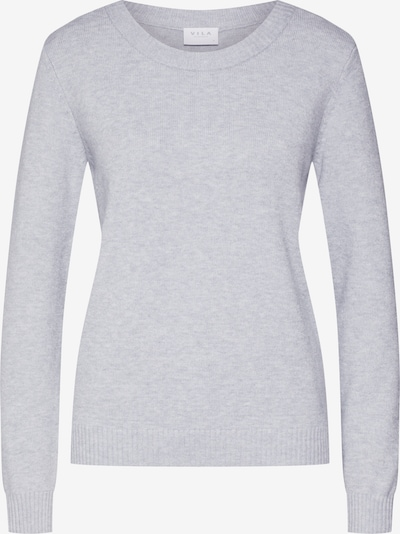 VILA Pull-over 'RIL' en gris clair: Vue de face