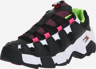 Tommy Jeans Sneaker 'WMNS CHUNKY HERITAGE SNEAKER' in rot / schwarz / weiß, Produktansicht