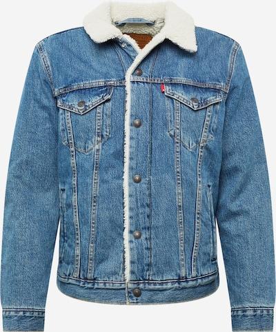 LEVI'S Jeansjacke 'TYPE 3 SHERPA TRUCKER' in blue denim, Produktansicht