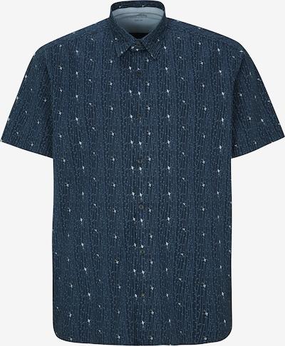 s.Oliver Men Big Sizes Hemd in hellblau / dunkelblau / weiß, Produktansicht