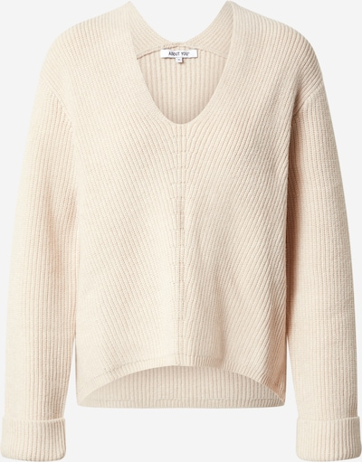 ABOUT YOU Pullover 'Tamara' in beige, Produktansicht