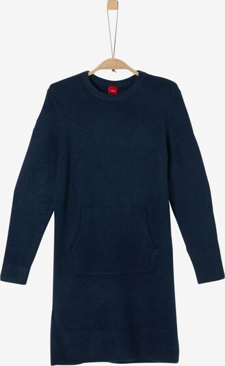 s.Oliver Junior Kleid in dunkelblau: Frontalansicht