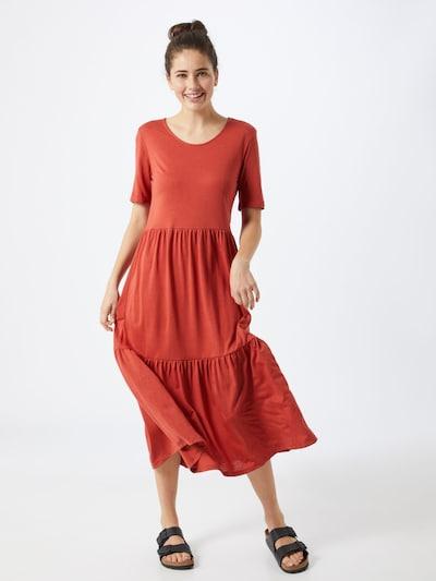 JACQUELINE de YONG Kleid 'JDYDALILA FROSTY S/S DRESS JRS NOOS' in rot, Modelansicht