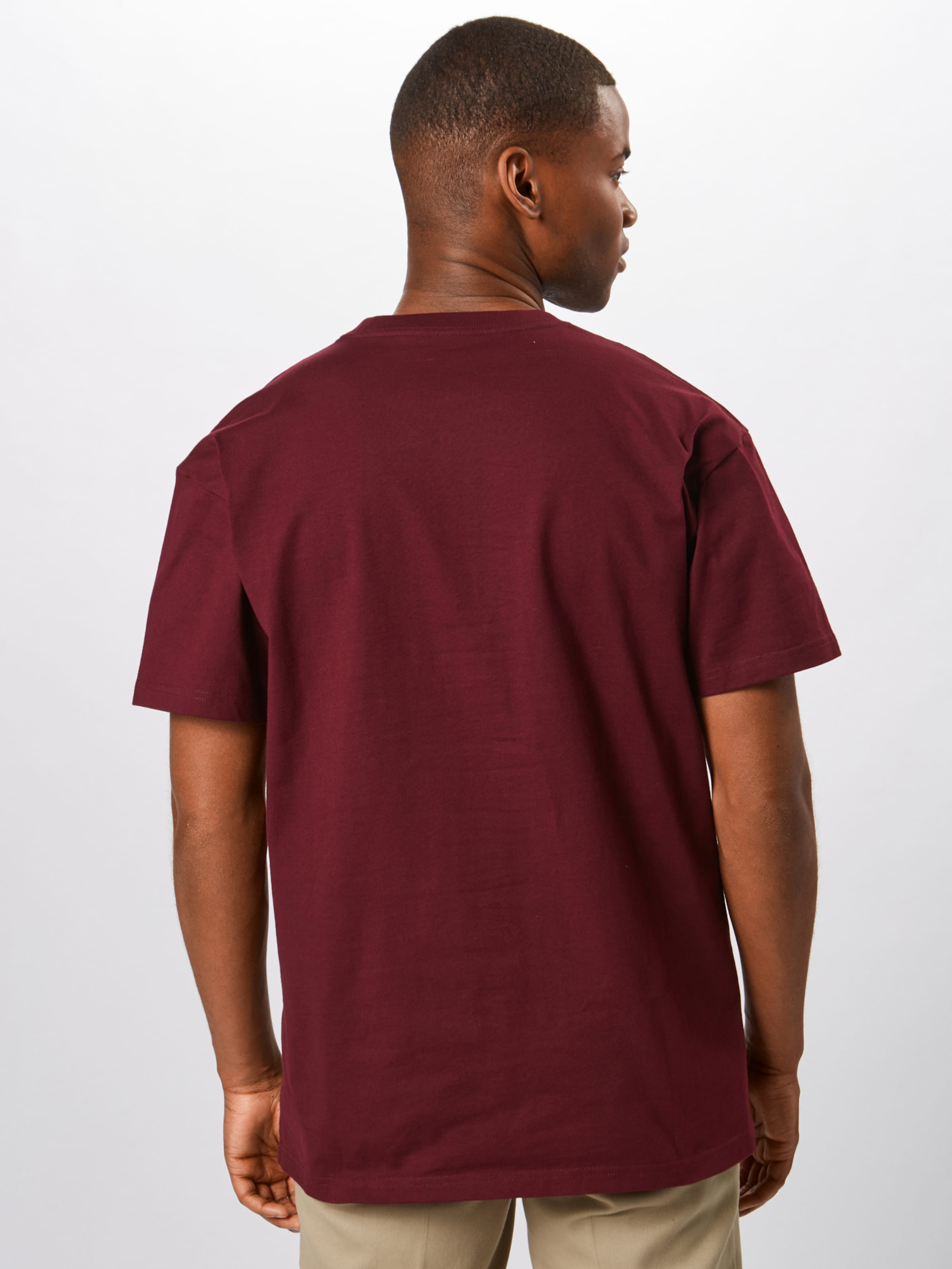 Carhartt Wip En 'chase' shirt Merlot T SUVqMpz