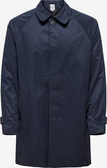 Only & Sons Tussenjas in de kleur Nachtblauw, Productweergave