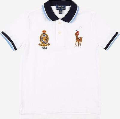 POLO RALPH LAUREN Tričko - kouřově modrá / noční modrá / bílá, Produkt