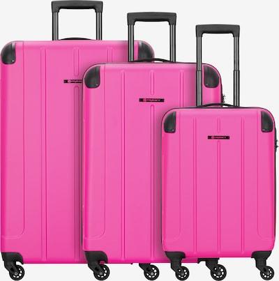 Franky Kofferset 'Munich' 3tlg. in pink, Produktansicht