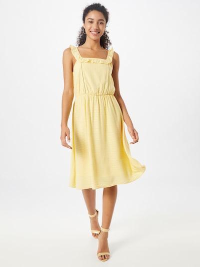 VERO MODA Kleid in gelb, Modelansicht
