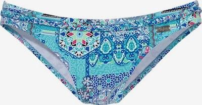 BUFFALO Bikinihose in navy / türkis / rot / weiß, Produktansicht