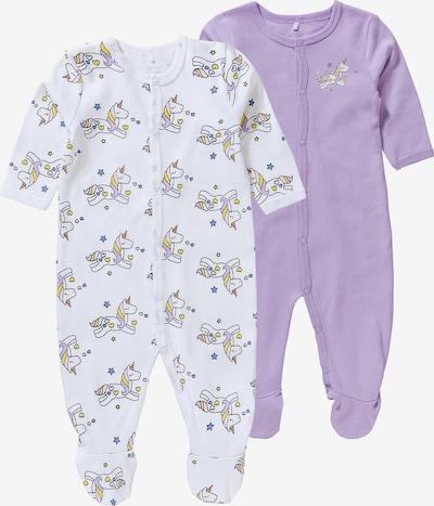 NAME IT Schlafanzug in helllila / weiß, Produktansicht
