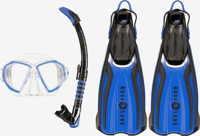 Aqua Lung Sport Schnorchelset 'Duetto' in blau / schwarz / weiß, Produktansicht