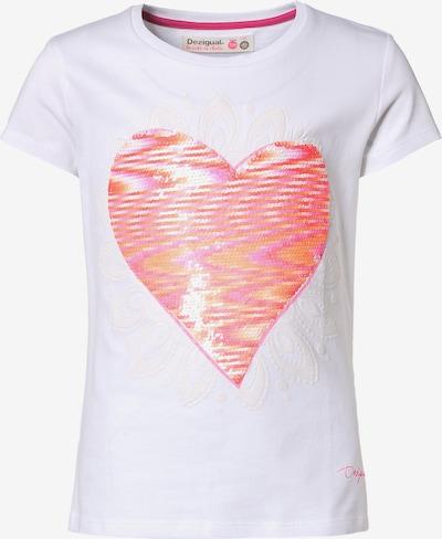 Desigual T-Shirt in weiß, Produktansicht