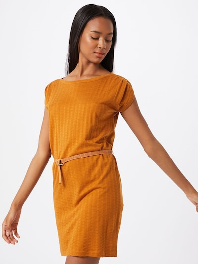 sessun Kleid 'SORIA' in safran / orange, Modelansicht