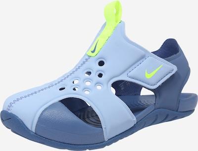 Nike Sportswear Sandale 'Sunray Protect 2 TD' in hellblau / gelb, Produktansicht