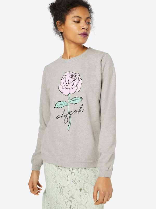 Oh Yeah! Sweatshirt 'Pink Rose'