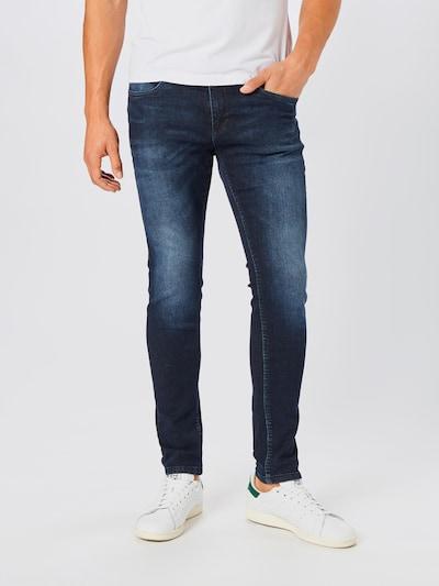 Lindbergh Jeans in blue denim: Frontalansicht