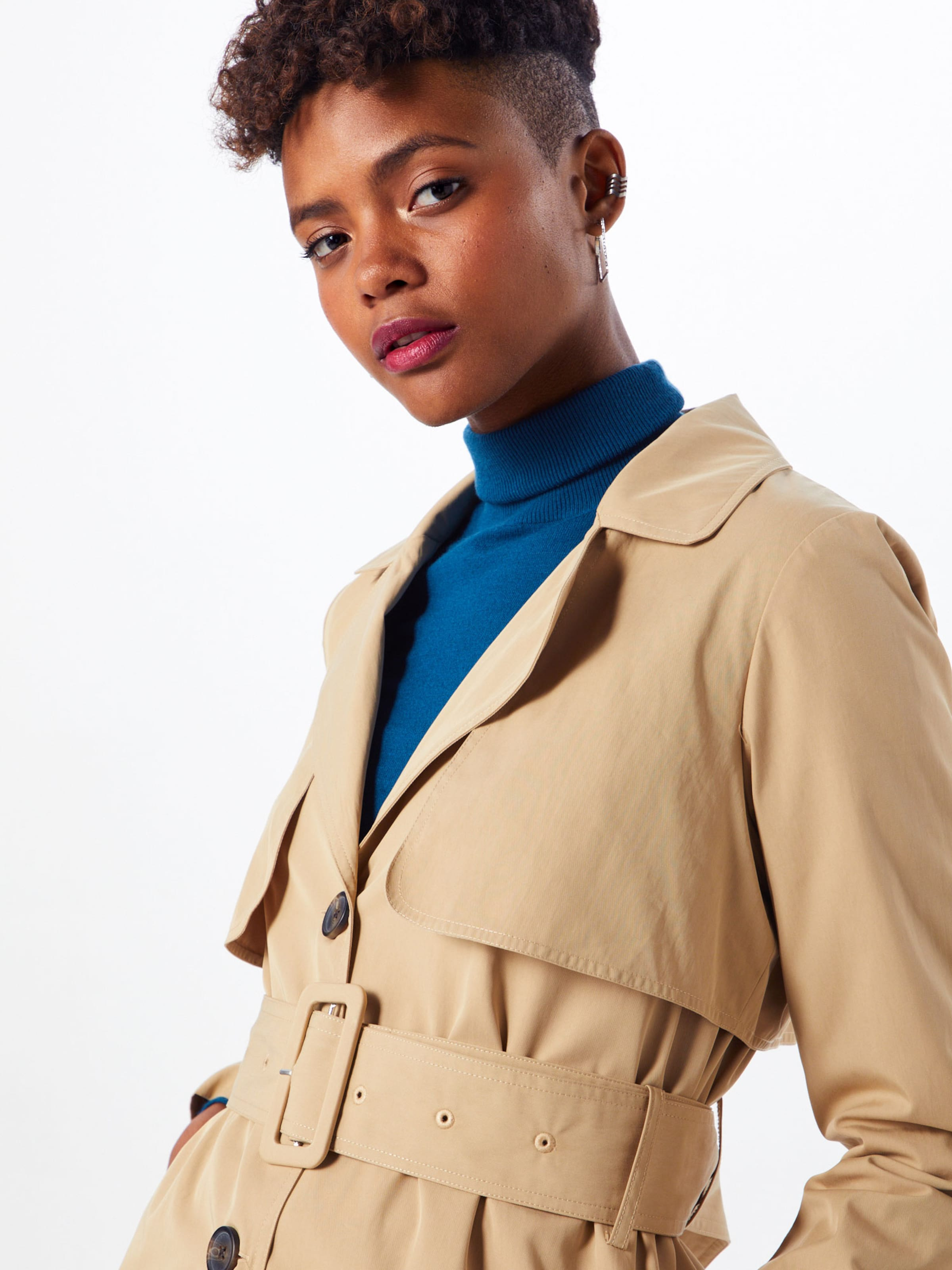 Beige a Trenchcoat s In Y yvYf6b7g