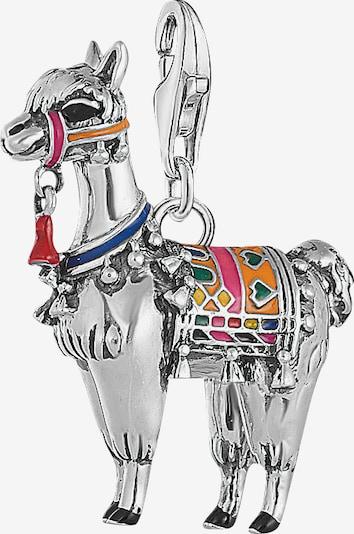 Thomas Sabo Charm-Anhänger 'Lama' in mischfarben / silber, Produktansicht