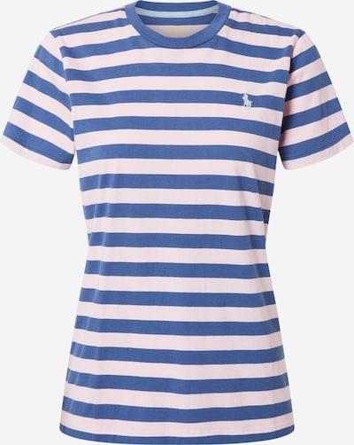 POLO RALPH LAUREN Тениска в синьо / бледорозово, Преглед на продукта