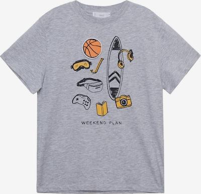 MANGO KIDS Shirt 'FLAP' in grau / mischfarben, Produktansicht