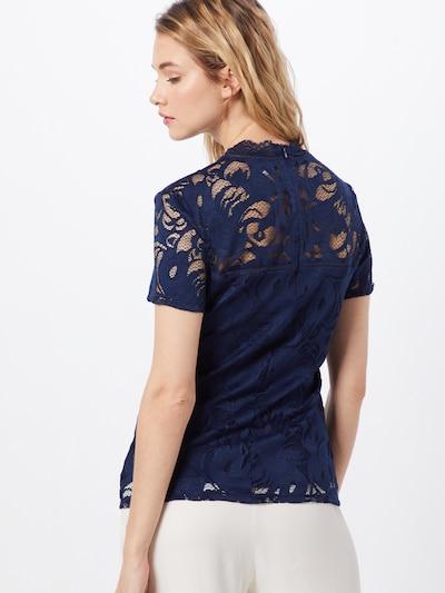 VILA Shirt 'STASIA' in de kleur Navy: Achteraanzicht