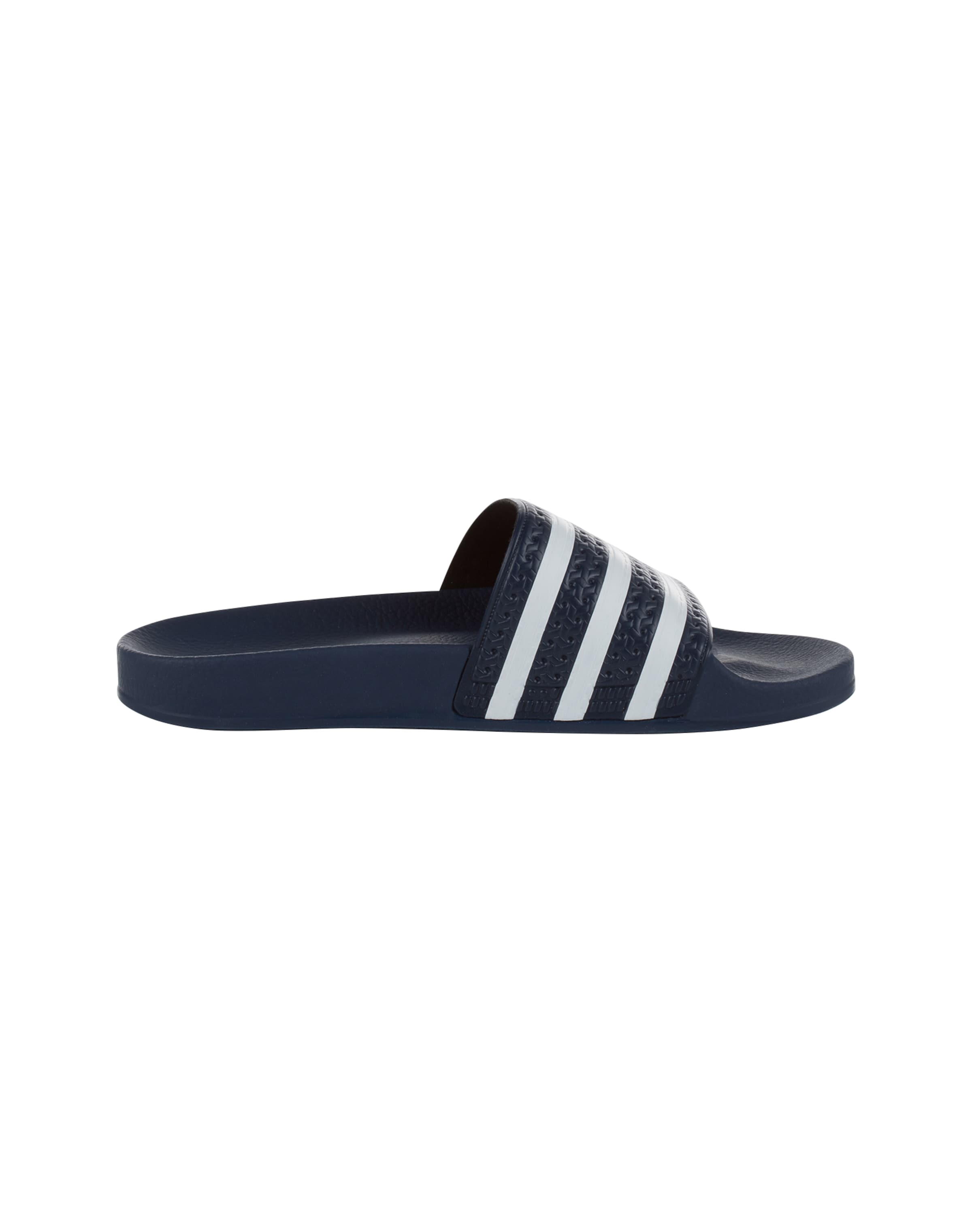 Adidas Bade slider In Originals 'adilette' BlauWeiß nwP0Ok