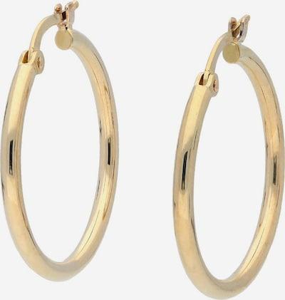 FIRETTI Paar Creolen in gold, Produktansicht