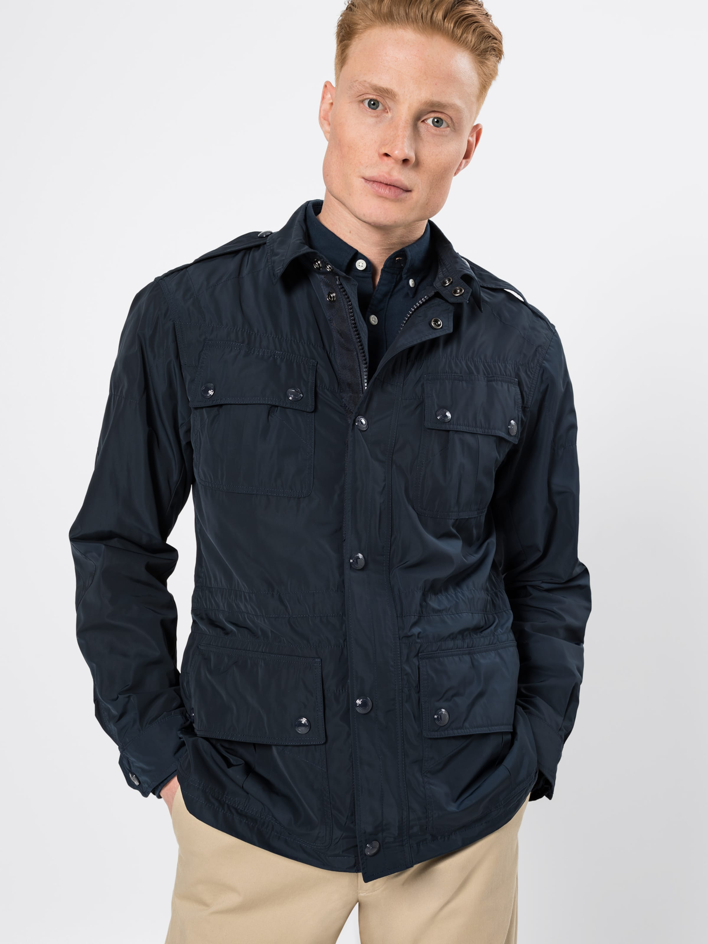 Lauren 'paratrooper' In Ralph Jacke Polo Navy yv0mNwnO8
