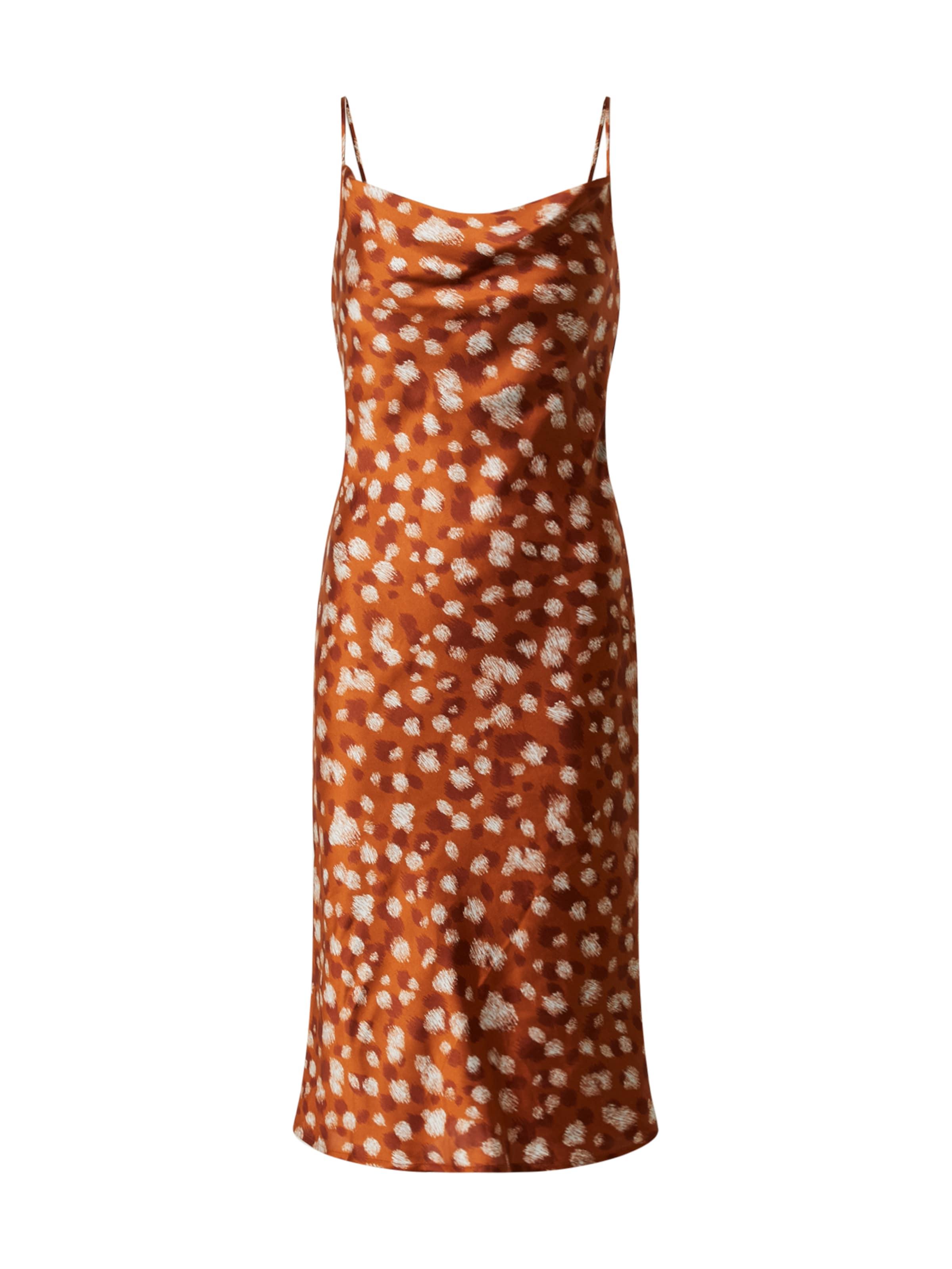 Bardot Kleid in gelb / orange