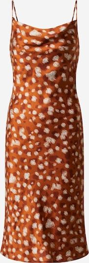 Bardot Robe d'été en jaune / orange, Vue avec produit