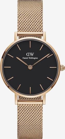 Daniel Wellington Uhr 'Classic Petite 28 Melrose DW00100217' in rosegold / schwarz, Produktansicht