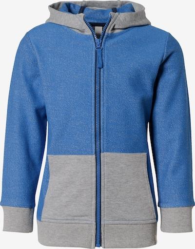 ESPRIT Sweatjacke mit Kapuze in blau / grau, Produktansicht