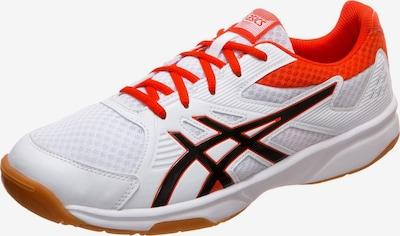 ASICS Handballschuh 'Upcourt 3' in dunkelorange / schwarz / weiß, Produktansicht
