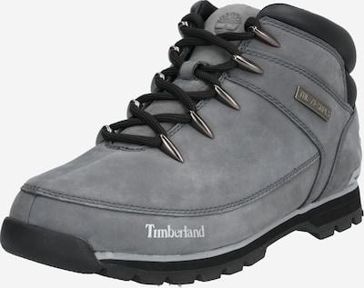 Auliniai batai su raišteliais 'Euro Sprint Hiker' iš TIMBERLAND , spalva - pilka / juoda: Vaizdas iš priekio
