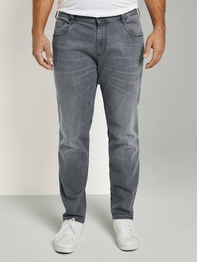TOM TAILOR Men Plus Jeans in grau, Modelansicht