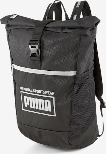 PUMA Rucksack 'Sole' in schwarz / weiß, Produktansicht