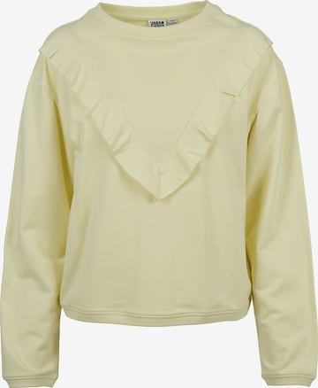 Urban Classics Sweatshirt in Yellow