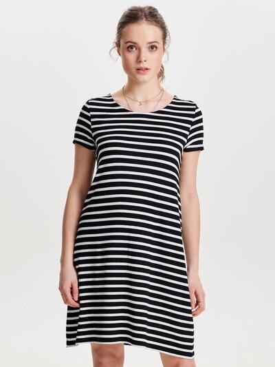 ONLY Kleid  'ONLBERA' in schwarz / weiß, Modelansicht